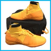 cutting - NEW Nlke Men s Elastico Superfly IC Indoor Soccer Shoes Boots Cleats Laser Men shoes Football Shoes