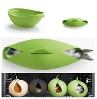 Wholesale Fish Kettle Steamer Poacher Cooker Food Vegetable Bowl Basket Kitchen Cooking Tools creative Multi function cookware