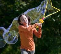 toy bubble gun - 46CM large bubble sword Bubble wand Pull Bubble Children s toys bubble gun