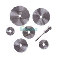 Wholesale New Portable Rotary Tool Circular Saw Blades Cutting Discs Mandrel For Dremel Cutoff