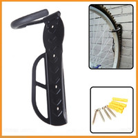 Wholesale Top Quality Black Bicycle Mountain Bike Storage Wall Mounted Rack Stands Steel Hanger Hook Bicycle Accessories