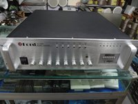 Wholesale 1000W constant pressure amplifier six partitions with U disc radio background music system amplifier U professional broadca