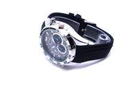 Wholesale Mini Camcorders W5000 Watch Camera DVR HD P with IR Night Vision function GB GB GB HD Waterproof WatchCamera