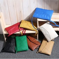 ab slings - HOT Cross Body Shoulder Handbags Vintage Womens PU Leather Envelope Satchel Sling Purse Tote Bags For Women AB