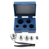 bench kit - High Quality set g g g g Grams Precision Chrome Calibration Scale Weight Set Weighing Scales Kit