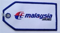 Tag bags malaysia - MAS Malaysia Airlines Embroidered Flight Crew Bag Tag per