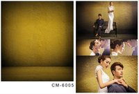 Wholesale 5X7ft Brown Wall Cloudy Art New Camera Background Computer Printed Photos Vinyl Backdrops Photography For Wedding Backdrop Backgrounds