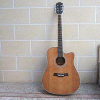 Wholesale 41 inches andrew brand xb acoustic electric guitar Agathis dammara folk electric guitar kitarra akustika gitar akustik abantu guitar