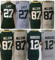 aaron rodgers women jersey white - Women Jordy Nelson Haha Clinton Dix Eddie Lacy Clay Matthews Aaron Rodgers Stitched Jerseys Green