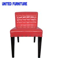 Wholesale colors Junction Upholstered hotel chair Tub leather Chairs for hotel resturant room