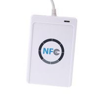 Wholesale New NFC ACR122U RFID Contactless Smart Reader Writer USB SDK IC memory Card Tag