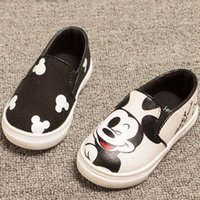 animal print dress shoes - Girls Boys Cartoon Sneaker Shoes Korean Kids Kitty Mickey Mouse Shoes Children Casual School Shoes Infant Toddler Baby Dress Shoes ZJ16 s03