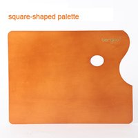 basswood supplies - Master Basswood Oil Painting Palette Ultrathin Acrylic Palette Paint Tools cm Three Shapes School Art Supplies