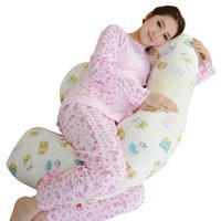 baby body support pillow - New Baby Care Mommy Pregnant Sleeping Nursing Bedding Body Waist Neck Support Hug Pillows Home Pregnant women side sleeping pillow