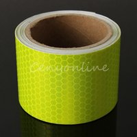 Wholesale 2015 New Arrival For M Fluorescence Yellow Reflective Safety Warning Conspicuity Tape