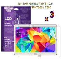 amoled tablet - Premium LCD Protector Case Cover For Samsung Galaxy Tab S AMOLED Tablet for Samsung Tab S T800 T805 LCD Guard