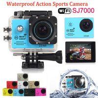 sports camcorder - SJ7000 Waterproof Sport Action Camera Full HD P WiFi Camera GoPro Style Helmet Camera Car DVR Screen MP CMOS Sports Camcorder