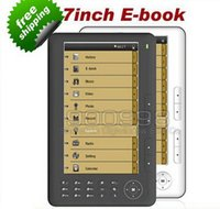 Wholesale Hot ebook reader inch p with GB Built in Micro sd Extension Multi function e book reader