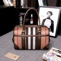 flower handbags - Fashion Handbags Designers Woman Bag PU Leather Women Bags Handbag High Quality Stripes Boston Purses Handbags Tote Shoulder Bags