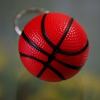Wholesale Jewelry Basketball cell phone accessories basketball keychain key chain ring small gift