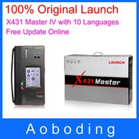 Wholesale Original Launch Professional Auto Scan Tool X431 Master IV Scanner Fast Free DHL Shipping