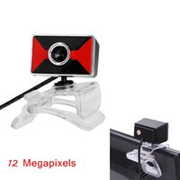 Wholesale High Quality Webcam USB2 Megapixels HD Web Camera Built in Microphone Degree Rotating Design for Computer PC Laptop order lt no tra