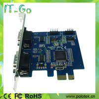 best pcie card - PCI Express Serial RS232 PCIe DB9 Serial Port Card With best Prices