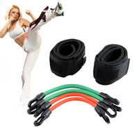 Wholesale Training Workout Leg Fitness Strength Resistance Kinetic Tube Bands For Power Kick Boxing Thai Punch Karate