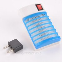 Wholesale LED Socket Electric Mosquito Fly Bug Insect Trap Night Lamp Killer Zapper GMPJ400 Y5