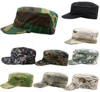 Wholesale Hot Sales Military Army Styles Camo Camouflage Hat Hunting Baseball Cadet Casual Caps PX9