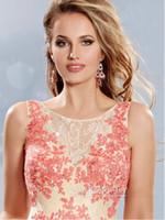 Wholesale Short Cocktail Dresses A Line Lace Applique Package Buttocks High Low Prom Party Gowns Detachable Skirt Prom Dress