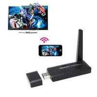 Cheap Miracast Wifi Display Dongle Receiver TV Stick 1080P HDMI Wireless IPUSH AirPlay DLNA Support Windows iOS Andriod Dropshipping