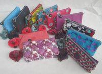 Wholesale Kiple walletl ing clutch zipper canvas purse storage bag cell phone package cm