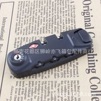 Wholesale Hot Supply HD ATSA password customs lock in lock luggage accessories