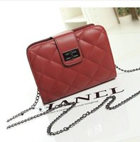 Wholesale 2015 new Korean version of sweet fashion handbags shoulder diagonal packet female fashion chain bag ladies bag