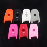 Wholesale Soft Silicone Car Key Cover Protective Case for BMW New X3 X5 X6 Series Series BMWC01