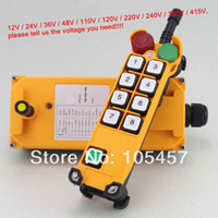 Wholesale 4 Motion Speed Hoist Crane Truck Radio Remote Control System with E Stop Tell us the voltage you need order lt no track