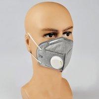 Wholesale Hot Sales Grey Medical Face Masks Non woven Disposable Use Face Masks Anti virus Protective Folding Masks YC0008 kevinstyle