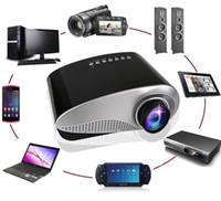 Wholesale 2017 Newest LED mini Portable Video Pico Micro Small Mini Projector LED Mini Projector Home Cinema Support AV TV VGA HDMI