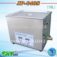 Wholesale Stainless steel Industrial Ultrasonic Bath Cleaner digital ultra sonic ceramic cleaning washing machine L jp s order lt no track