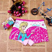 Briefs baby doll panties - 2014 Frozen princess Elsa doll pattern Underwear baby child cotton underwear kids cartoon panties girl s boxer briefs elsa panties anna SL