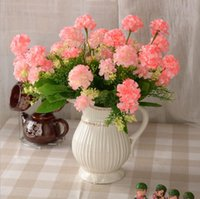 ball chrysanthemum - Artificial flowers chrysanthemum balls wreath party decoration real touch roses colors rose balls weddings wreath free ship