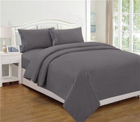 beds ideas - Gray Brushed Microfiber Pieces Bed sheet set Boys Girls Guest Room RV and College Fabulous Gift Idea