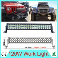 led light bar truck - Excellent W LED Work Light Bar DC10 V Car styling LED offroad light fog lights for SUV ATV tractor Truck with accessorie Fedex