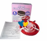 bake giant cookie - CPAM Set of silicone Giant Cake size cookies mold cookies cake maker mould baking tray new arrival