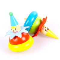 Wholesale Wooden spinning tops and mini spinning tops with two kind of type for you to choose which have smooth surface