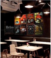 Wholesale cm Metal Tin Sign Poster COFFEE AND BEER Retro Classical Tin Bar pub home Wall Decor Retro Tin Poster