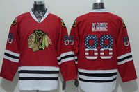 best national flags - Factory Outlet New Arrival Patrick Kane Jersey National Flag Edition Red Hockey Chicago Blackhawks Jerseys Best Quality All Sewn On