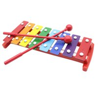band instruments sounds - Kids Children Toddler Colorful Note Glockenspiel Educational Kids Children Musical Instrument Rhythm Band Toy Percussion