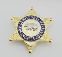 Wholesale Losangeles County United States Deputy Sheriff bear badge badge